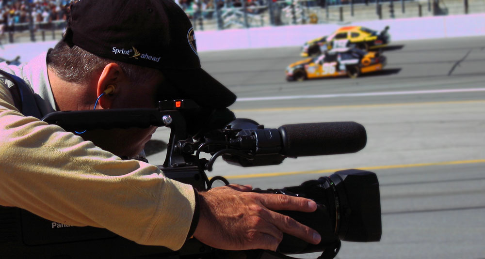 HD Shooting at Kansas Speedway for NASCAR Media Group